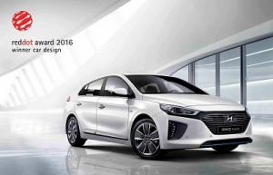 Hyundai IONIQ remporte le prestigieux Red Dot Design Award 2016