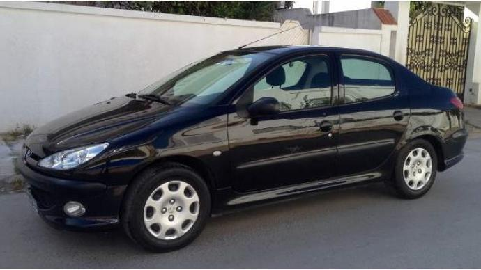 vendre peugeot 206 sedan tunis le bardo ref uc10277. Black Bedroom Furniture Sets. Home Design Ideas