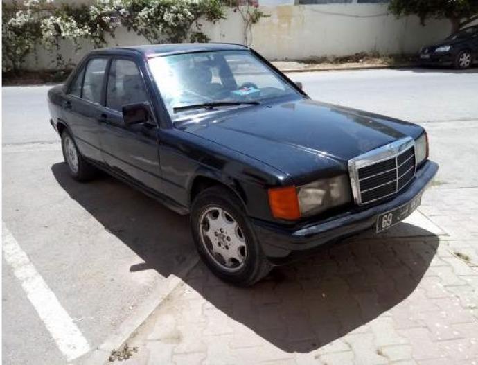 224 Vendre Mercedes 190d Tunis Ain Zaghouan Ref Uc10708