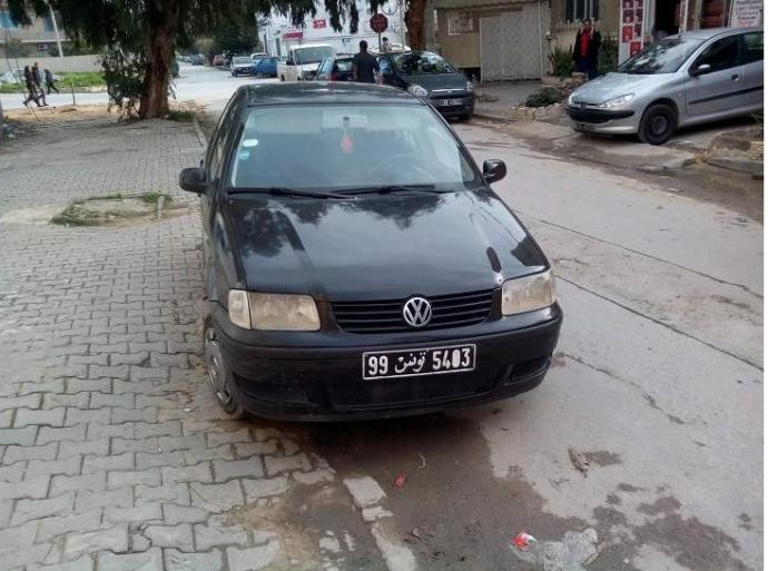 vendre volkswagen polo 4 kairouan kairouan sud ref. Black Bedroom Furniture Sets. Home Design Ideas
