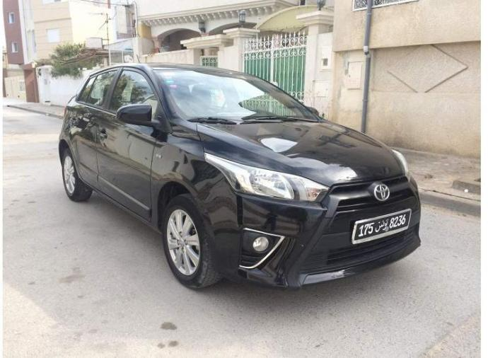 vendre toyota yaris tunis le bardo. Black Bedroom Furniture Sets. Home Design Ideas