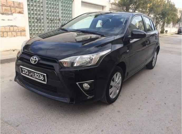 vendre toyota yaris tunis le bardo ref uc13758. Black Bedroom Furniture Sets. Home Design Ideas