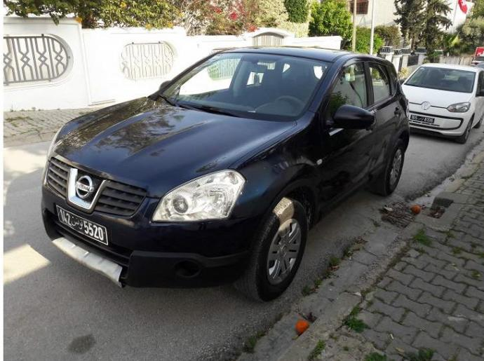 vendre nissan qashqai tunis el menzah ref uc13849. Black Bedroom Furniture Sets. Home Design Ideas