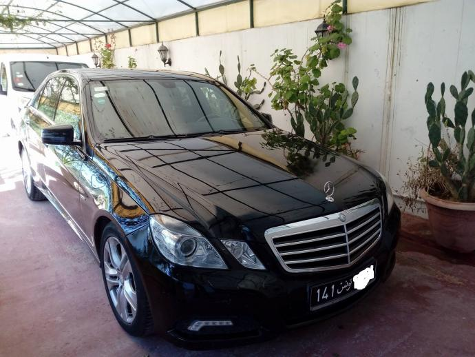 vendre mercedes e220 cdi boite auto sousse hammam sousse ref uc15416. Black Bedroom Furniture Sets. Home Design Ideas