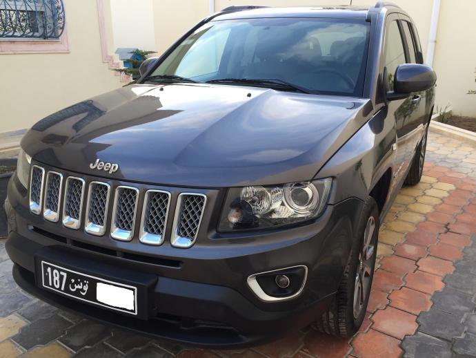 vendre jeep compass limited 2 0 l 10 cv essence ben arous rades ref uc15485. Black Bedroom Furniture Sets. Home Design Ideas