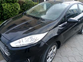 Ford fiesta titanium noir