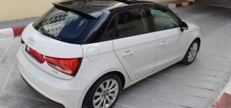 A1, boîte auto, toit ouvrant, éclairage d'ambiance, bluetooth, 125ch 1,4 TFSI