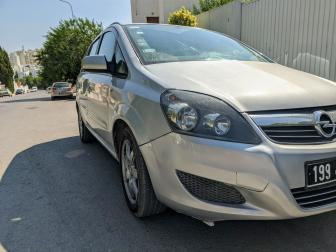 Carte voiture Opel Zafira