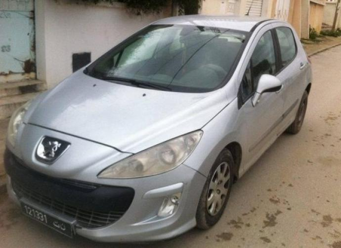 vendre peugeot 308 gris tunis el omrane superieur. Black Bedroom Furniture Sets. Home Design Ideas