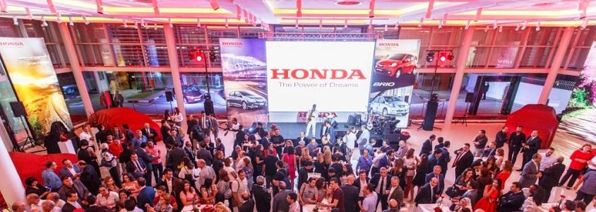 Cérémonie d'inauguration du premier showroom Honda en Tunisie :