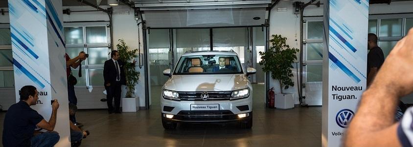 Ennakl Automobiles lance le Nouveau TIGUAN de Volkswagen