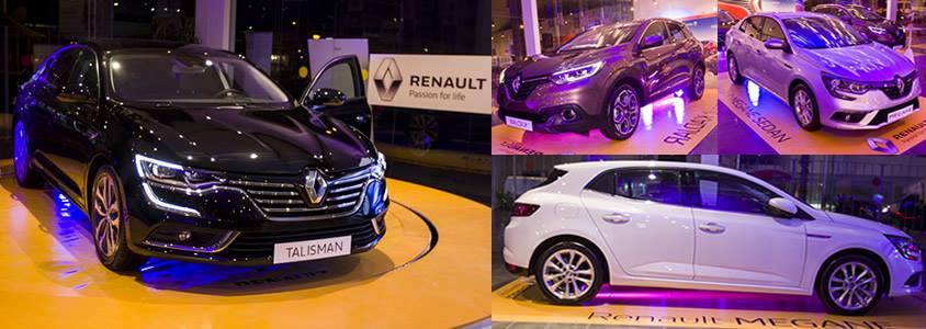 Les Nouveautés Renault 2017