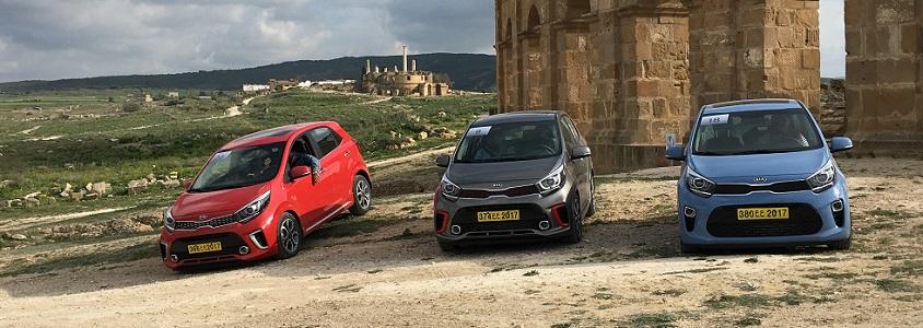 Une première depuis 2011, KIA Motors organise les tests drive de la nouvelle génération de Picanto en Tunisie