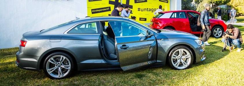 Audi Tunisie Présente la toute Nouvelle A5 coupé et l'indéfinissable Q2