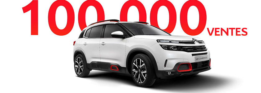100.000 Ventes De Nouveau SUV C5 Aircross Dans Le Monde. Profitez De Notre Offre De Fin D'année !