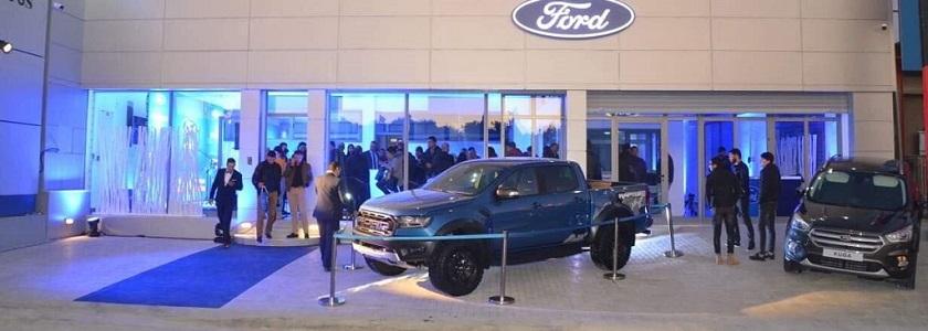 Alpha Ford Inaugure Sa Nouvelle Agence, Société 6S, À Sousse